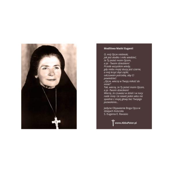 Modlitwa do Ojca - Matka Eugenia