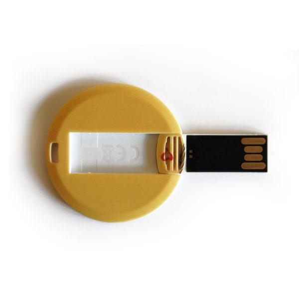 żółty pendrive