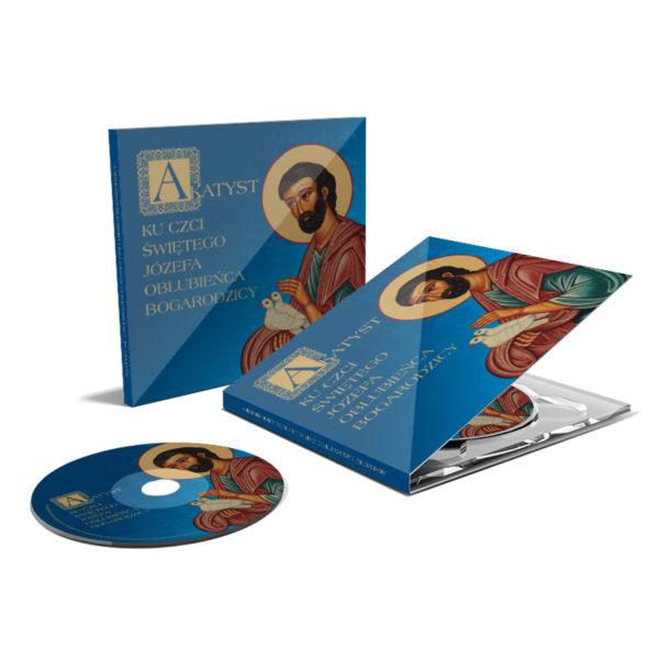 Jakub Tomalak Akatyst ku czci Świętego Józefa płyta CD